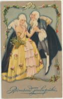 76-802 Estonia  WO 515 Christmas Couples - Estland