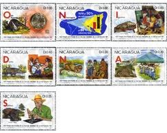 Ref. 369847 * MNH * - NICARAGUA. 1981. PRIMER ANIVERSARIO DE LA CRUZADA NACIONAL DE ALFABETACION - Nicaragua