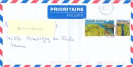 NOUVELLE-CALEDONIE NOUMEA-CTC TàD 18-12-2009 - TP LE FLEUVE DIAHOT 110 F. - Briefe U. Dokumente