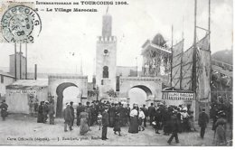 CPA - 59 - TOURCOING - Exposition Internationale 1906, Village Marocain, Animation - NORD GRAND EST - Tourcoing