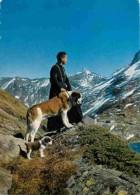 Animaux - Chiens - Saint Bernard - Coi Du Grand Saint-Bernard - Un Chanoine Avec Le Chien Barry Et Son Petit Chiot - Mon - Cani