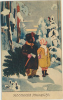 76-809 Estonia  WO 534 Christmas Rosmann - Estland