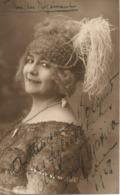 Carte-photo De ROUEN 1927-1928 - Théatre Des Arts - Opéra - Autographe D'un Artiste à Identifier - - Rouen
