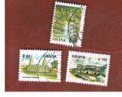 GHANA - SG 1640.1643  - 1991 TOURISM   - USED ° - Ghana (1957-...)