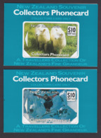 New Zealand - Private Overprint - 1992 Collectors Phonecard Set (2) - VFU - NZ-CO-09F - New Zealand