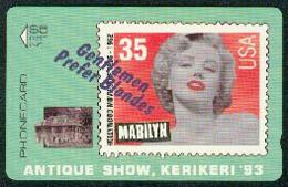 New Zealand - Private Overprint - 1993 Antique Show, Kerikeri $5 Marilyn - Mint - NZ-CO-16 - New Zealand