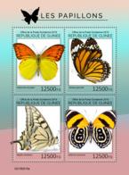 Guinea 2019 Fauna Butterflies S201908 - República De Guinea (1958-...)