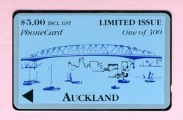 New Zealand - Private Overprint - 1993 Auckland Harbour Bridge $5 - Mint - NZ-CO-20 - New Zealand