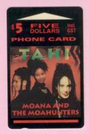 New Zealand - Private Overprint - 1993 Moana And The Moa Hunters $5 - Mint - NZ-CO-14 - Neuseeland