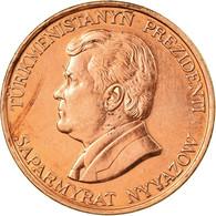 Monnaie, Turkmanistan, 10 Tenge, 1993, TTB, Copper Plated Steel, KM:3 - Turkmenistan