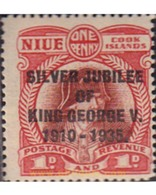 Ref. 595701 * HINGED * - NIUE. 1935. JUVILEO - Niue