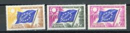FRANCE -  SERVICE - N° Yvert 27+28+32 (*) - Dienstpost