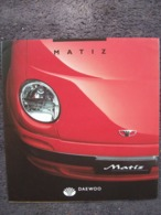 DEPLIANT DAEWOO MATIZ - Cars