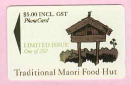 New Zealand - Private Overprint - 1994 Traditional Maori Food Hut $5 - Mint - NZ-CO-29 - Nouvelle-Zélande