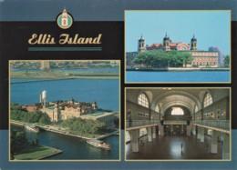 Ellis Island, New York Harbour, USA - Unused - Ellis Island