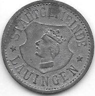 *notgeld Lauingen  10  Pfennig ND /o.j.  F278.2 - Andere