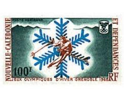 Ref. 72824 * MNH * - NEW CALEDONIA. 1967. X OLYMPIC WINTER GAMES. GRENOBLE 1968 . 10 JUEGOS OLIMPICOS  INVIERNO GRENOBLE - Neukaledonien