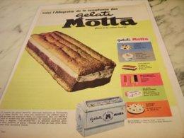 ANCIENNE PUBLICITE ALLEGRETTO  GELATI DE MOTTA  1961 - Posters