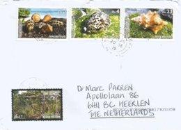 Mauritius 2019 Port Louis Sea Shell Conus Sp Cypraea Sp Pleuroploca Sp Forest Cover - Mauricio (1968-...)