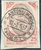 Timbre Italie Obliteration 1957 Trieste - 1946-60: Used