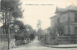 Lot 2 CPA 44 Loire Atlantique La Baule Avenue Des Bouleaux Maisons Villas - La Baule-Escoublac
