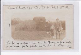SAINT JEAN PIED DE PORT (environs) : Carte Photo D'une Cabane Pour La Chasse à La Palombe - Bon état - Saint Jean Pied De Port