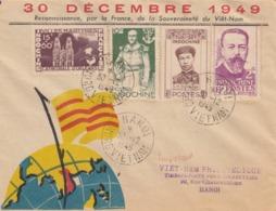 LETTRE VIET-NAM. 30 DECEMBRE 1949. HANOI - Vietnam
