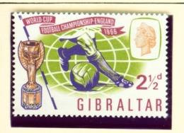 GIBRALTAR  -  1966 Football World Cup Set Unmounted/Never Hinged Mint - Gibraltar