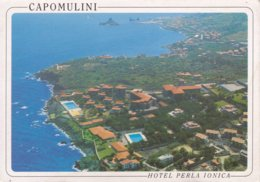 CAPOMULINI - ACIREALE - CATANIA - COMPLESSO DELL' HOTEL PERLA IONICA - VEDUTA DALL'AEREO - Acireale