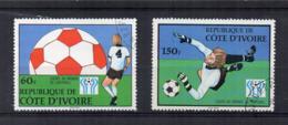 COSTA D'AVORIO - 1978 - Campionati Del Mondo Di Calcio - 2 Valori - Usati - (FDC17439) - Costa D'Avorio (1960-...)