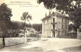 GERARDMER - Le Pondu Lac Et Les Hôtels  -ed. Weick N°12862 - Gerardmer