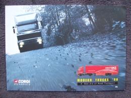CATALOGO CORGI TOYS  -  MODERN  TRUCKS, Anno 1998 - Gran Bretagna