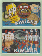 New Zealand - Private Overprint - 1994 Kiwiana  Set (2) - Mint - NZ-LO-22/7F - Nouvelle-Zélande