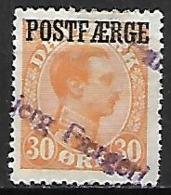 DANEMARK     -    1921.    Y&T  N° 150 Oblitéré. - 1913-47 (Christian X)