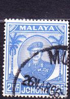 Malaiische Staaten V - Johore - Sultan Ismail Mit Brille (MiNr:  127) 1949 - Gest Used Obl - Johore