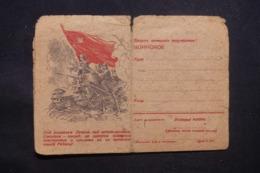 U.R.S.S. - Carte De Correspondance Illustrée ( Propagande Militaire) Non Utilisé - L 43338 - 1923-1991 USSR