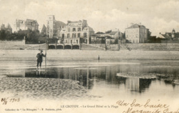 1323.  Le Grand Hôtel Et La Plage - Le Crotoy