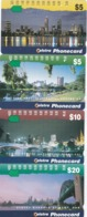 Australia, N955732 - N955714a, Set Of 4 Cards, Cityscape, 2 Scans. - Australia