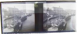 BREST Vers 1900 : Le Port De Guerre. Plaque Verre Stéréoscopique. Négatif. - Diapositiva Su Vetro