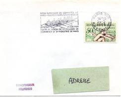MARINE = PARIS 109 - 1969 = FLAMME SECAP CONCORDANTE N° 964  'AVIRON = Coupe ESCP + HEC' - Rowing