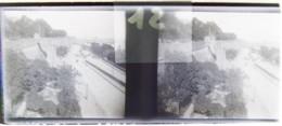 BREST Vers 1900 : Brest Vu Des Remparts. Plaque De Verre Stéréoscopique. Négatif. - Diapositiva Su Vetro