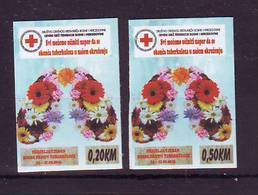 BiH 2018 Y Charity Stamps Red Cross Selfadhesive MNH - Bosnie-Herzegovine
