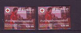 BiH Bosnia 2018 Y Red Cross Charity Stamps  MNH - Bosnien-Herzegowina