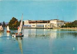 95 - Enghien Les Bains - Le Lac - Le Casino - Voile - Carte Neuve - Voir Scans Recto-Verso - Enghien Les Bains