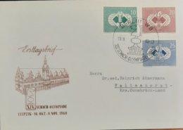 Germany DDR FDC Schach Olympiade 1960 - [6] Democratic Republic