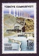 2017 TURKEY UNESCO WORLD HERITAGE LIST DENIZLI MNH ** - 1921-... Repubblica
