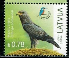XC0892 Latvia 2019 Conservation Birds 1V MNH - Lettonia