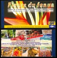 """POLYNESIE 2004 - Yv. C723 (723 à 734) ** SUP  Faciale= 10,08 EUR - Carnet """"Fleurs Du Fenua""""  ..Réf.POL24285 - Carnets"""