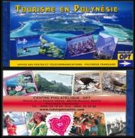POLYNESIE 2006 - Yv. C779 (779 à 790) ** SUP  Cote= 28,00 EUR - Carnet 'Tourisme En Polynésie'  ..Réf.POL24286 - Carnets