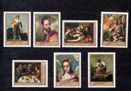 Hungria Nº 1967-73 Tema Pintura, Serie Completa En Nuevo 6 € - Hungría